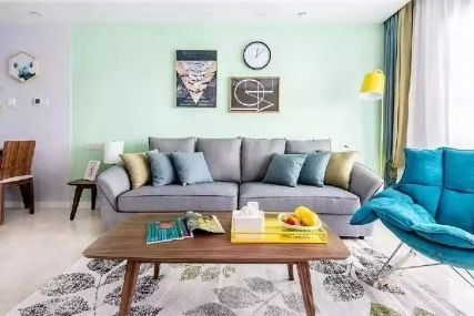 徐州现代风格105平米房屋装修案例