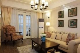 徐州美式风格三居室装修效果图