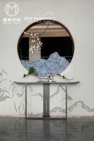 常州星河国际中式三居室装修案例