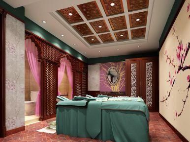 杭州新中式风格美容院装修图片大全