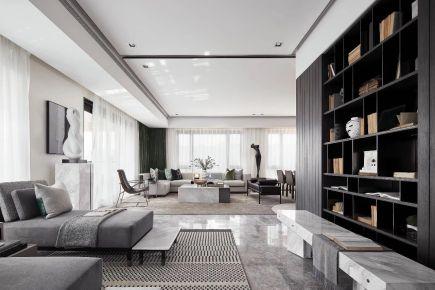 杭州现代时尚公寓装修效果图