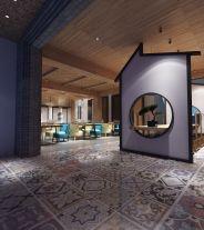 杭州中式风格民宿装修效果图