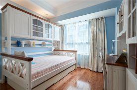 重庆89平北欧风格三居室装修