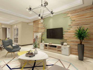 漳州150平米现代风格装修案例