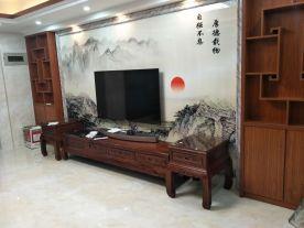 漳州中式风格三居室装修案例