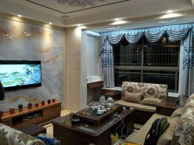 漳州简约风格三居室装修实景图