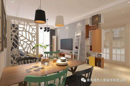 青岛凤凰城欧式风格三居室装修案例