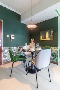 宁波田园风格小两居室装修案例