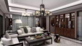 宁波新中式风格四居室装修设计实例
