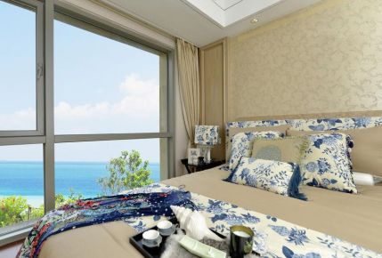 郑州简约风格三居室装修案例