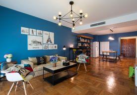 郑州欧式风格120平米三居室装修案例