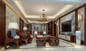 佛山中式风格三居室装修案例