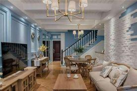 佛山地中海风格三居室装修设计实例