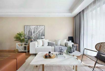 佛山现代简约三居室装修效果图