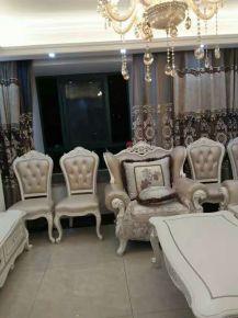 宁波齐和家园欧式风格三居室装修效果图