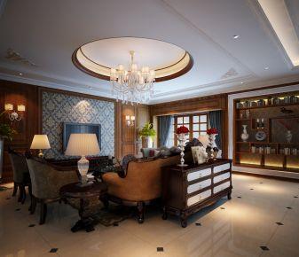 西安中式风格三居室装修实景图赏析