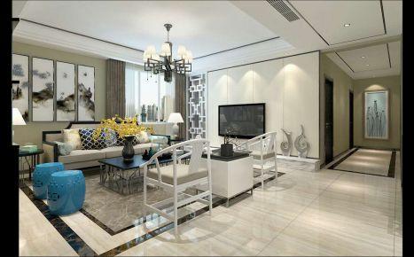 西安现代风格小三居室装修设计案例