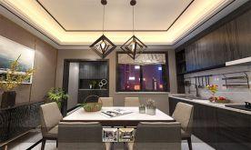 成都万达城美式别墅装修效果图 美式别墅装修案例