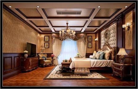 徐州丽晶国际美式风格装修案例 开启精致生活新模式