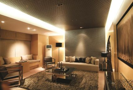 徐州金泰尚城现代风格三居室装修效果图