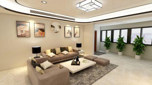 广州云景家园混搭风格小两居室装修