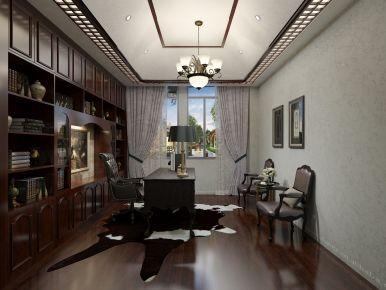 泉州新中式风格别墅装修实景图