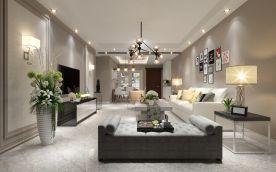 泉州现代风格三居室装修设计案例
