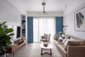 郑州简约风格两居室装修效果图大全