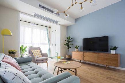 郑州140平米现代简约风格三居室装修