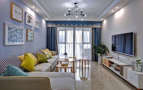 郑州88平米简约风格两居室装修案例