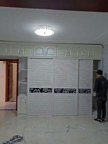 西安北城新天地现代风格三居室装修实景图