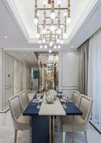 绍兴嘉海雅苑法式风格三居室装修效果图