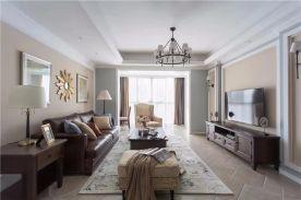 绍兴美式风格三居室装修效果图赏析