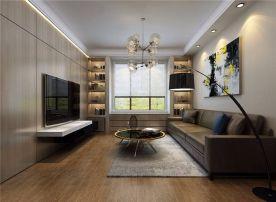 大连现代风格两室一厅装修效果图