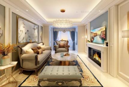 大连欧式两室一厅装修效果图