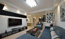 西安现代风格小两居室装修效果图