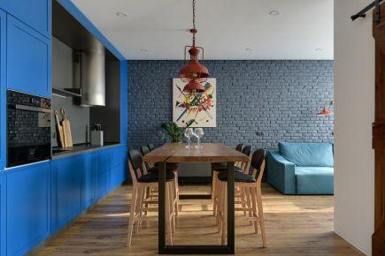 广州混搭风格两居室装修效果图