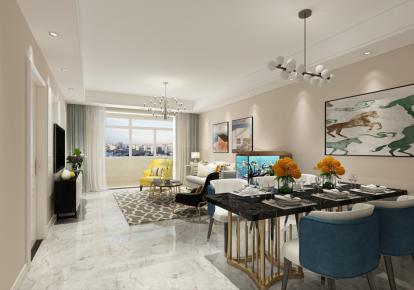 常州现代简约风格三居室装修案例