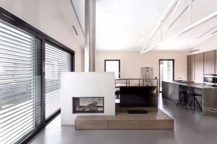 广州创意混搭老房三居室装修案例