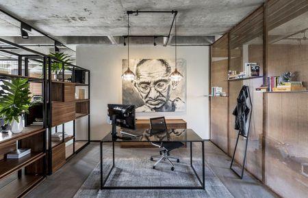 广州创意混搭风格四居室装修效果图