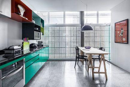 广州创意混搭风格三居室装修效果图