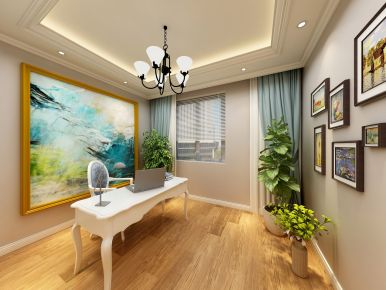 石家庄欧式风格小两居室装修案例