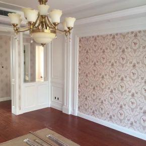 大连星海悦庭欧式风格三居室装修效果图