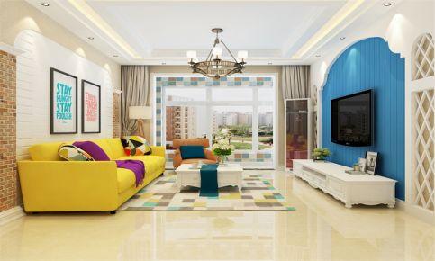 西安地中海风格小两居室装修效果图