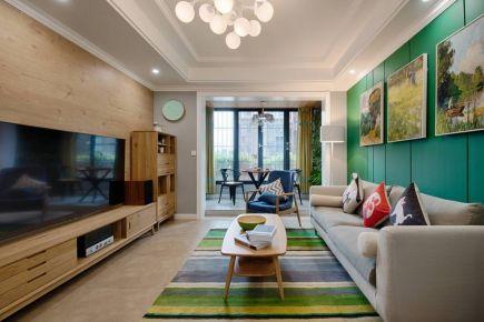 西安暖暖的北欧风格两居室装修案列