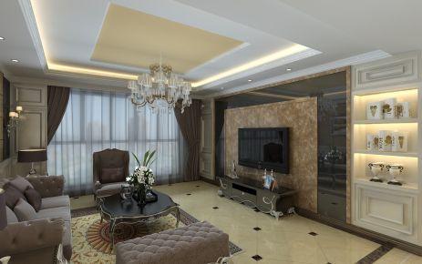 武汉欧式风格四居室装修效果图