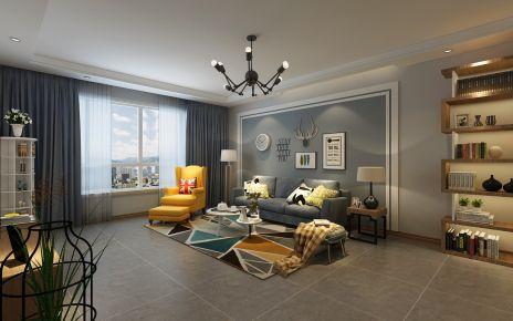 西安100平小资混搭风格三居室装修案例
