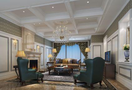 常州欧式风格四居室装修效果图