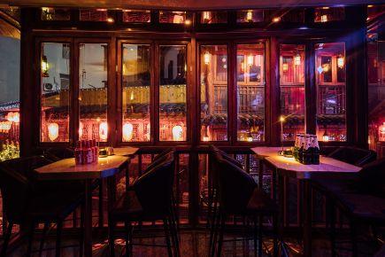 长沙现代轻奢风格酒吧装修效果图
