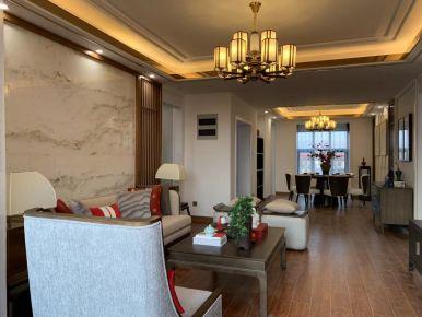 苏州中式风格三居室样板房装修案例